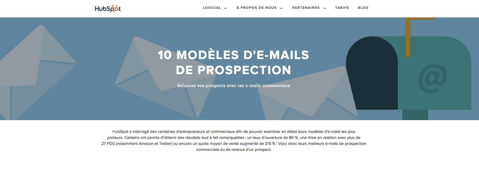 Nos 10 modèles d'emails de suivi