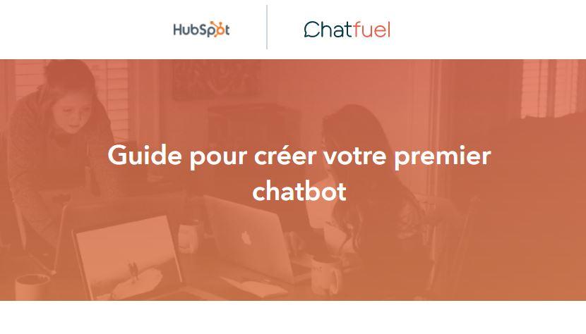 Aperçu - guide pour créer votre premier chatbot