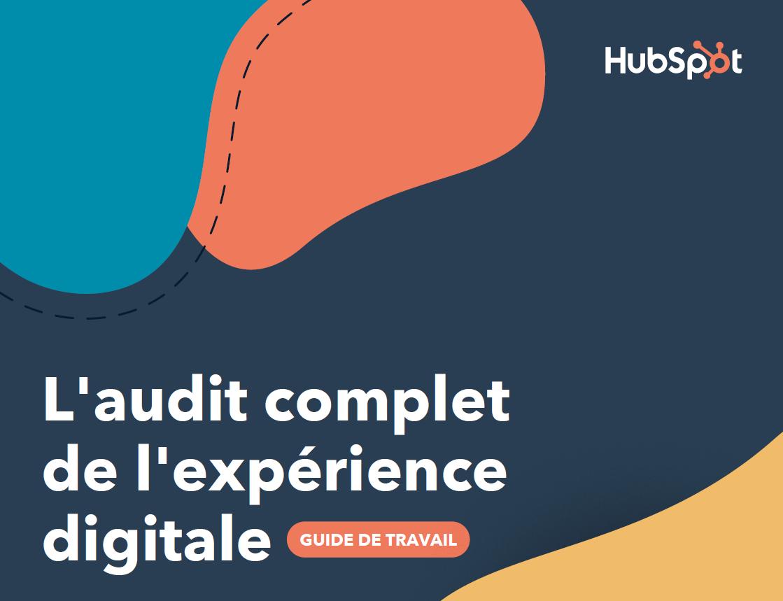 E-book Audit complet de l'expérience digitale