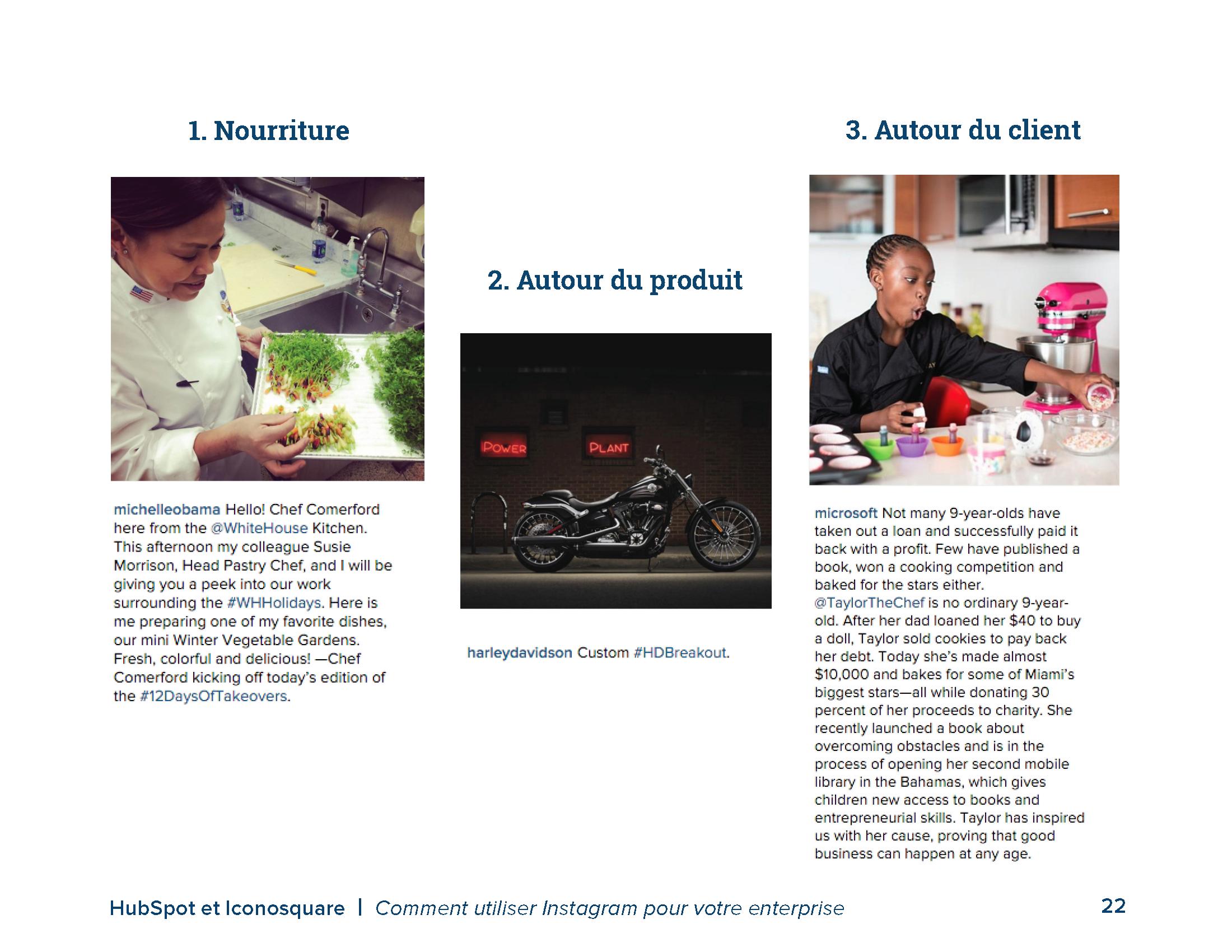 COMMENT UTILISER INSTAGRAM POUR VOTRE ENTREPRISE - preview slide 3