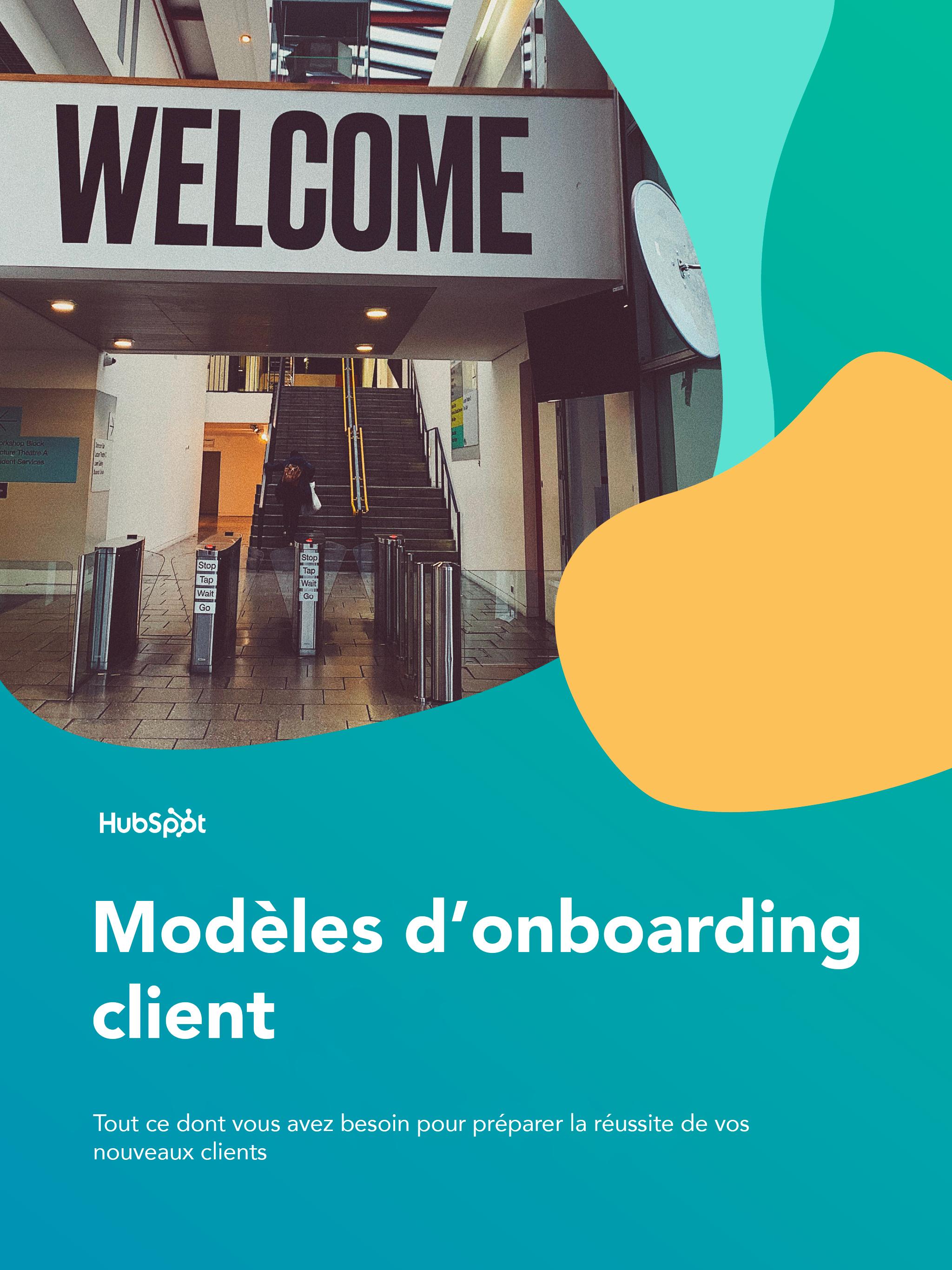 Modèles d'onboarding