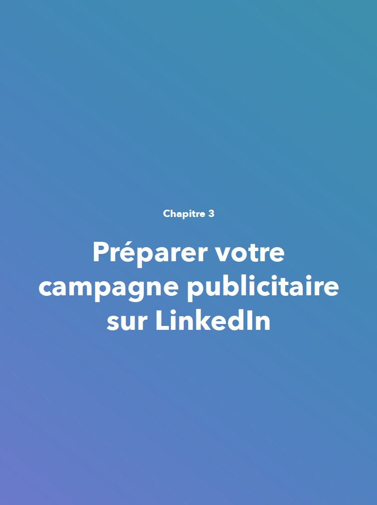 Campagne LinkedIn publicitaire