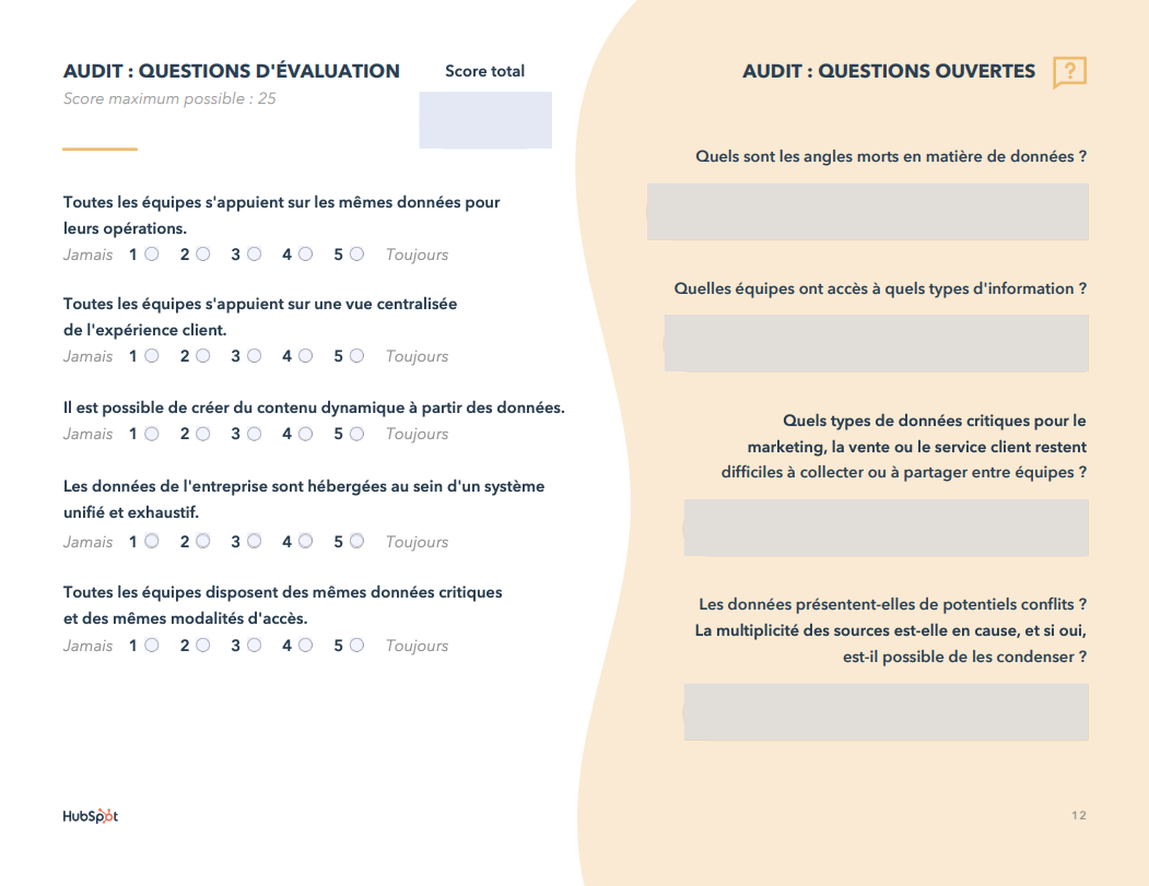 E-book Questions d'audit sur les données