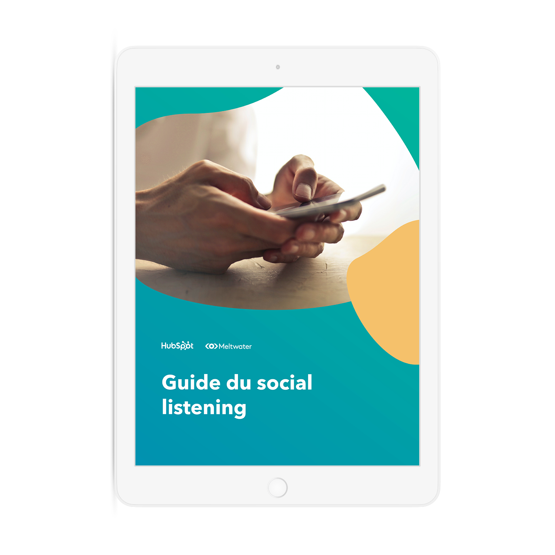 Guide gratuit du social listening