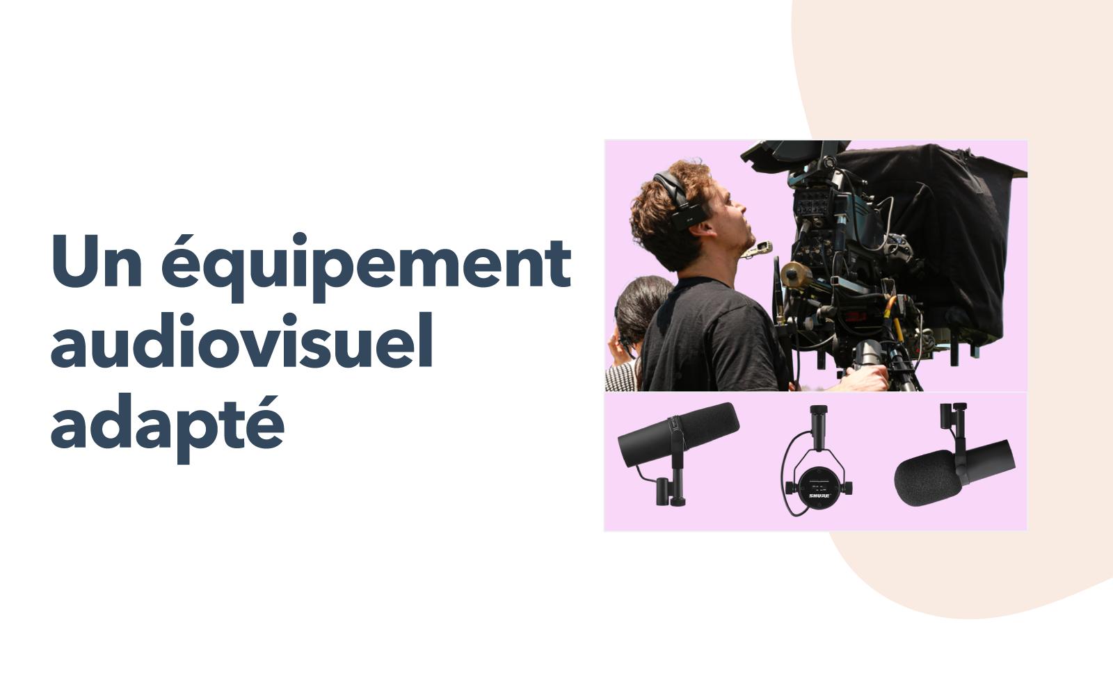 Équipement audiovisuel