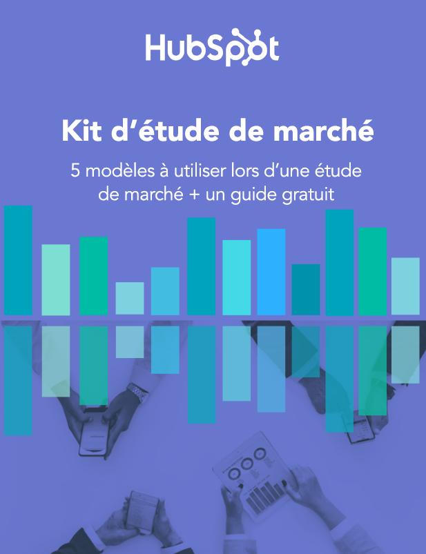 Couverture ebook kit d'étude de marché